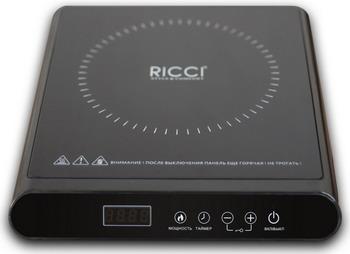 Настольная плита Ricci JDL-H 20 D 19 BL черная сувенир акм кружка текст спб h 9 5см d 8см фарфор черная