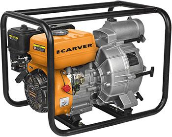 Мотопомпа CARVER CGP 5580 D для грязной воды 01.022.00005 7500 classic для грязной воды