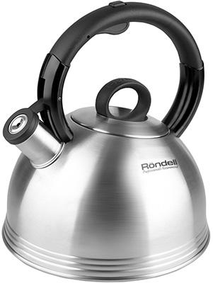 Чайник Rondell Premiere RDS-237 чайник kitchenaid kten20sbob чёрный 1 9 л нержавеющая сталь