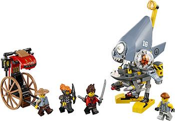 Конструктор Lego Нападение пираньи Ninjago 70629 lego конструктор lego ninjago 70629 нападение пираньи