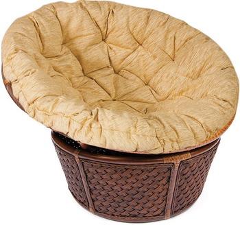 Кресло-качалка Tetchair ANDREA 23/01 с подушкой (античный орех) 8887 кресло качалка плетёное андреа релакс andrea relax подушка доступные цвета pecan washed