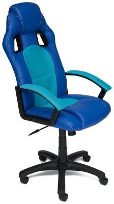 Кресло Tetchair DRIVER (кож/зам/ткань синий/бирюза 36-39/23) servo driver r88d wt04h 100