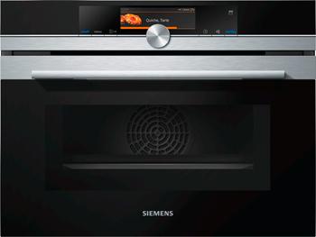 Встраиваемый электрический духовой шкаф Siemens CN 678 G4 S6 встраиваемый электрический духовой шкаф siemens cm 678 g4 s1