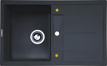 цена на Кухонная мойка Zigmund amp Shtain Rechteck 780 черный базальт