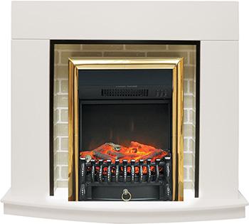 Каминокомплект Royal Flame Montana с очагом Fobos BR (белый) 811164923894 real flame fobos br s
