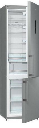 Двухкамерный холодильник Gorenje NRK 6201 MX двухкамерный холодильник don r 295 b