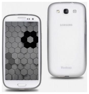 Чехол (клип-кейс) Yoobao Glow Protect Case для Samsung Galaxy S3 i 9300 белый replacement power switch volume home button lens cover for samsung galaxy s3 i9300 silver