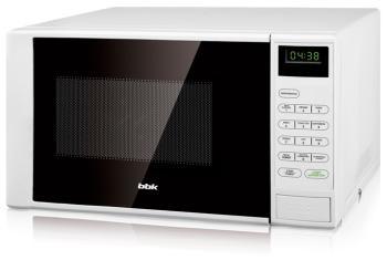 Микроволновая печь - СВЧ BBK 20 MWS-728 S/W белый микроволновая печь свч bbk 20 mws 710 m w белый
