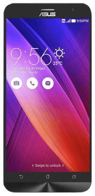 Мобильный телефон ASUS Zenfone 2 ZE 551 ML-6A 147 RU (90 AZ 00 A1-M 01470) черный asus ru игровой геймер ares cg6155 где