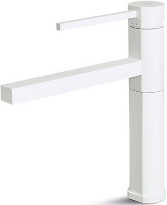 Кухонный смеситель Elleci MOONY vitrotek (96) white MVKMOO 96 96 5 96 5b1 13338 t17510