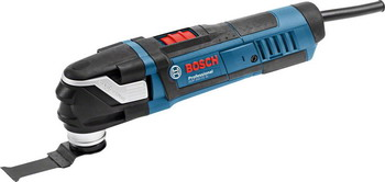 Многофункциональная шлифовальная машина Bosch GOP 40-30 0601231003 многофункциональная шлифмашина bosch gop 18v 28 20000 об мин