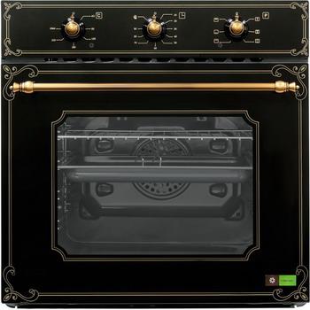 цены Встраиваемый электрический духовой шкаф Ricci REO 640 BL