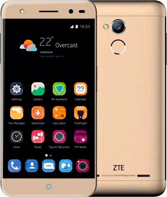 Мобильный телефон ZTE Blade V7 золотой мобильный телефон zte blade v7 золотистый