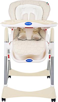 Стульчик для кормления Sweet Baby Royal Classic Cream 339 777 стульчик для кормления sweet baby royal classic lilla 381544