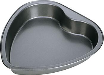 Форма для выпечки Tescoma в виде сердца DELICIA 23 х22см 623160 форма для торта и кекса tescoma delicia раскладная диаметр 26 см
