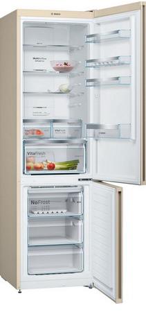 Двухкамерный холодильник Bosch KGN 39 XK 3 AR холодильник bosch kgn39nw13r двухкамерный белый