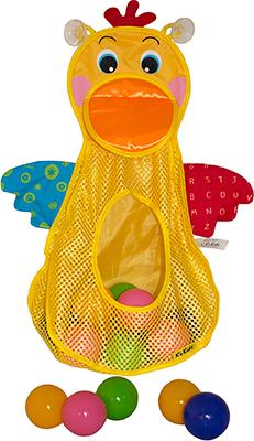 Игрушка для купания KS Kids ''Голодный пеликан'' с мячиками