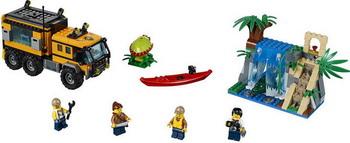 Конструктор Lego CITY Передвижная лаборатория в джунглях 60160 lego city мусоровоз 60118