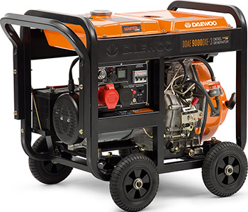 Электрический генератор и электростанция Daewoo Power Products DDAE 9000 DXE-3 блок автоматики daewoo ats 6000xe 3