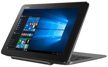 Планшетный ноутбук ASUS Transformer Book T 101 HA-GR 029 T (90 NB0BK1-M 02290) серый ноутбук asus gl 703 vd gc 046 t 90 nb0gm2 m 03310