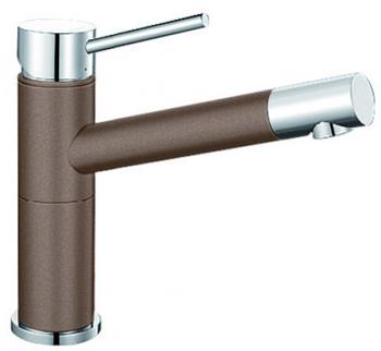 Кухонный смеситель BLANCO ALTA Compact хром/мускат 521738 смеситель alta stainless steel 512321 blanco