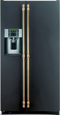 Холодильник Side by Side Iomabe ORE 24 VGHFNM черный холодильник side by side iomabe ore 24 cghfbb черный