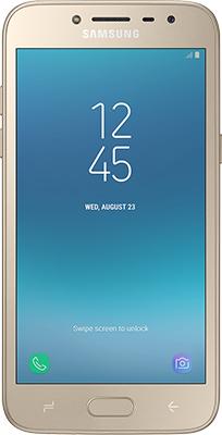 Мобильный телефон Samsung Galaxy J2 (2018) SM-J 250 золотистый мобильный телефон samsung metro sm b350e duos black blue