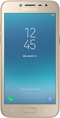 Смартфон Samsung Galaxy J2 (2018) SM-J 250 золотистый смартфон samsung galaxy a8 2018 black sm a530f exynos 7885 2 2 4gb 32gb 5 6 2220x1080 16mp 16mp 8mp 4g lte 2sim android 7 1 sm a530fzkdser