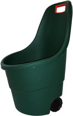 Тачка садовая Keter EASY GO 55 L зеленая кашпо easy growing keter