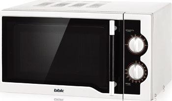 Микроволновая печь - СВЧ BBK 23 MWS-928 M/W белый микроволновая печь свч bbk 23 mwg 930 s bw чёрный белый