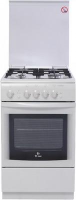 Газовая плита DeLuxe 506040.04 г (крышка) ЧР