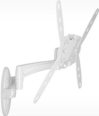 Кронштейн для телевизоров Holder LCDS-5029М белый holder lcds 5029м black gloss кронштейн для тв