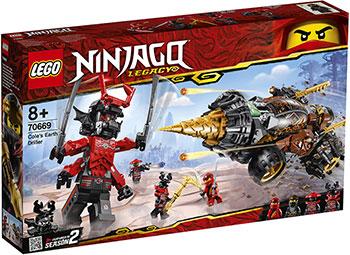 Конструктор Lego Земляной бур Коула 70669 Ninjago Legacy конструктор lego обучение в монастыре 70680 ninjago legacy