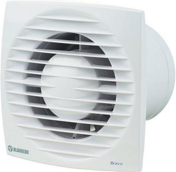 Вытяжной вентилятор BLAUBERG Bravo 125 T белый