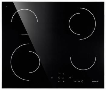 Встраиваемая электрическая варочная панель Gorenje Simplicity ECT 6 SY2B измерительный угольник truper ect 6 14369