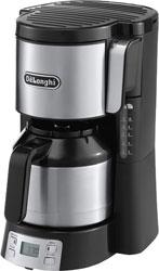Кофеварка DeLonghi ICM 15750 кофеварка delonghi en 500 коричневый