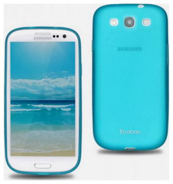 Чехол (клип-кейс) Yoobao Glow Protect Case для Samsung Galaxy S3 i 9300 голубой for samsung samsung s3 s3 i9300 lcd for samsung galaxy s3 i9300 lcd