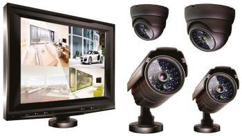 Комплект видеонаблюдения Ginzzu HS-T 804 KB
