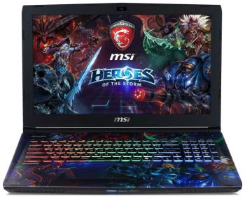 Ноутбук MSI GE 62 6QD-244 RU Apache Pro Heroes ноутбук msi gs43vr 7re 094ru phantom pro 9s7 14a332 094
