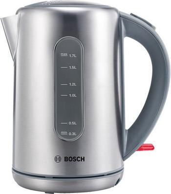 Чайник электрический Bosch TWK-7901 bosch чайник bosch twk6801 серебристый 1 7л 2400вт нержавеющая сталь