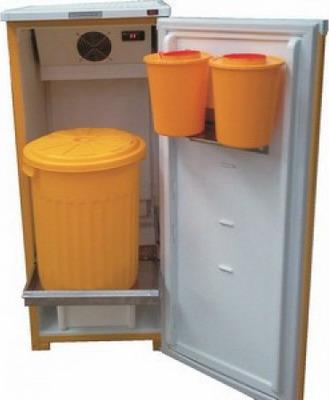 Холодильная витрина Саратов 501 М (кш-160) с баками
