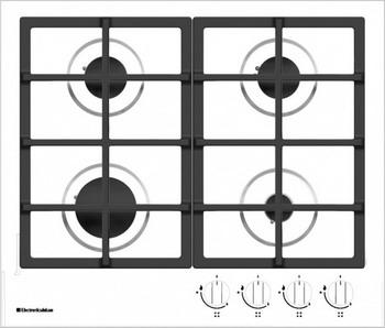 Встраиваемая газовая варочная панель Electronicsdeluxe TG4 750231 F-024 ЧР electronicsdeluxe vm 4660129 f