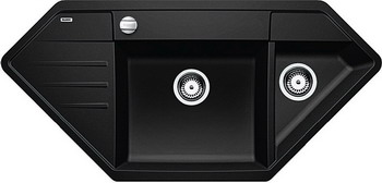 Кухонная мойка BLANCO LEXA 9E SILGRANIT антрацит мойка blanco classik 9e silgranit 521338 антрацит