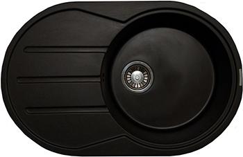 Кухонная мойка LAVA E.2 (BASALT чёрный) кухонная мойка ukinox stm 800 600 20 6