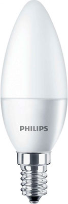 Лампа Philips CorePro candle ND 4-25 W E 14 840 B 35 FR мультиварка philips hd3158 03 980вт 5л 17прог
