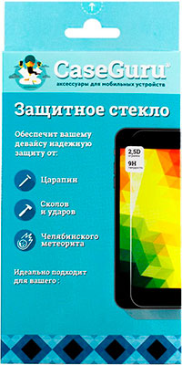 Защитное стекло CaseGuru 3D для Iphone 7 Plus Black