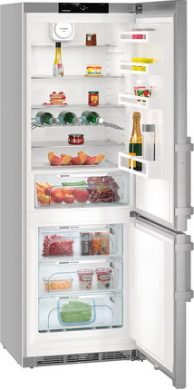 Двухкамерный холодильник Liebherr CNef 5715 двухкамерный холодильник liebherr ctpsl 2541