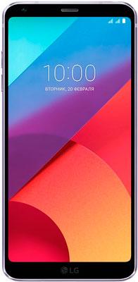 Смартфон LG G6 H 870 DS фиолетовый смартфон lg g6 h870ds 64gb platinum