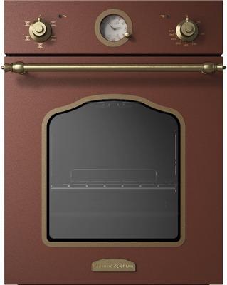 Встраиваемый электрический духовой шкаф Zigmund amp Shtain EN 110.622 M встраиваемый электрический духовой шкаф smeg sf 4120 mcn