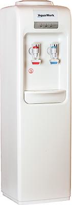 Кулер для воды Aqua Work MYR 828 S (белый) только нагрев цена